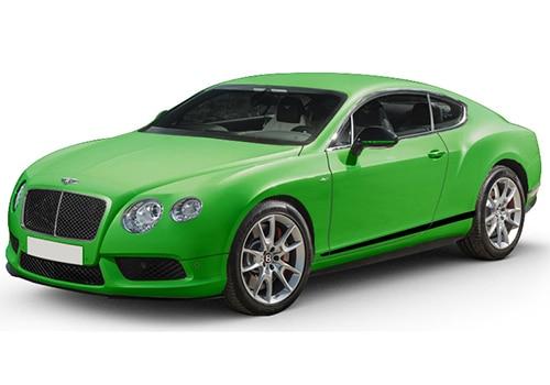 Bentley Continental Apple Green Color