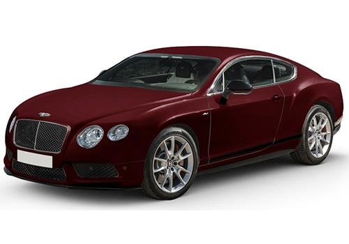 Bentley Continental Burgundy Royal Color