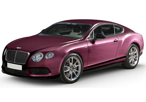 Bentley Continental CLARET Color