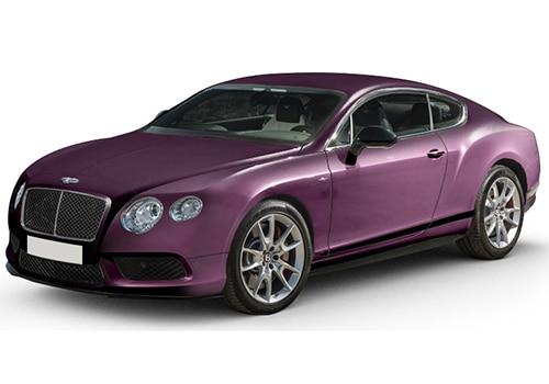 Bentley Continental Damson Color