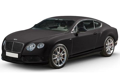 Bentley Continental Dark Grey Satin Color