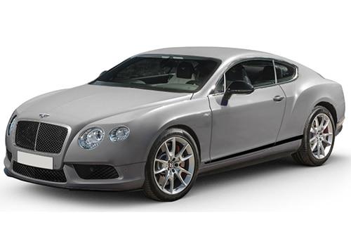Bentley Continental Extreme Silver Color