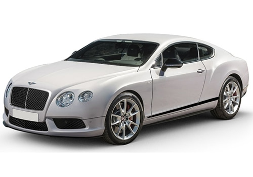 Bentley Continental Ice White Color