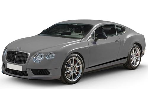 Bentley Continental Light Grey Satin Color