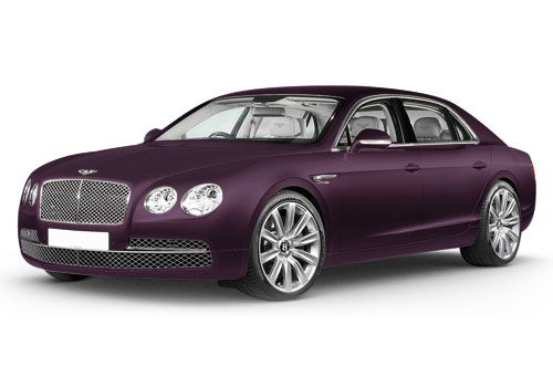 Bentley Flying Spur Damson Color