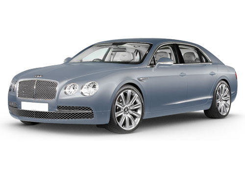 Bentley Flying Spur Fountain Blue Color