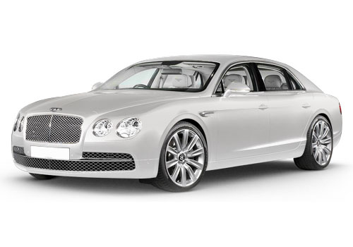 Bentley Flying Spur Ghost White Color