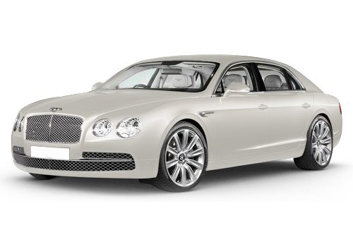 Bentley Flying Spur Glacier White Color