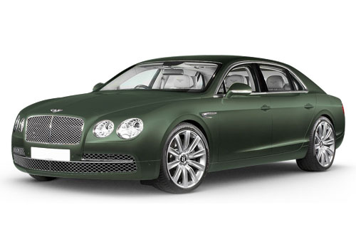 Bentley Flying Spur Pale Emerald Color