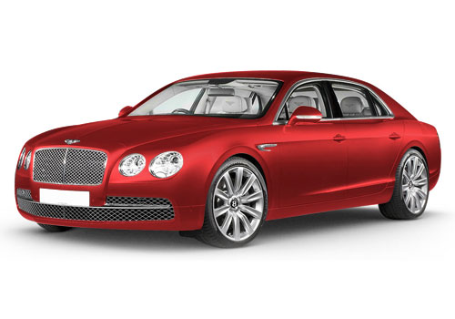 Bentley Flying Spur James Red Color