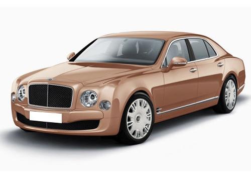 Bentley Mulsanne Amber Color