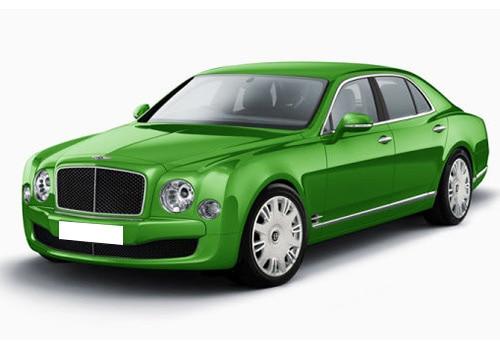 Bentley Mulsanne Apple Green Color