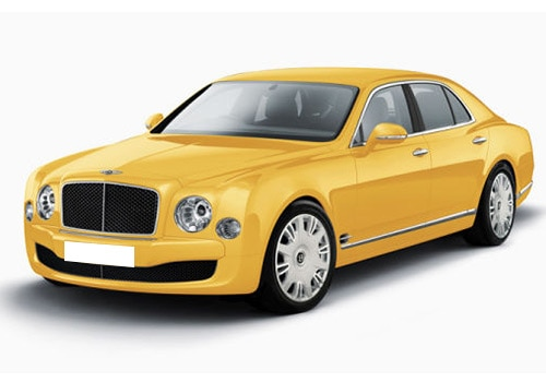 Bentley MulsanneContinental Yellow Color