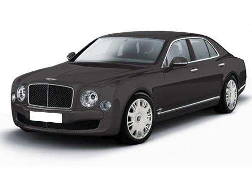 Bentley Mulsanne Dark Grey Satin Color