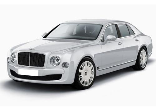 Bentley Mulsanne Ice White Color