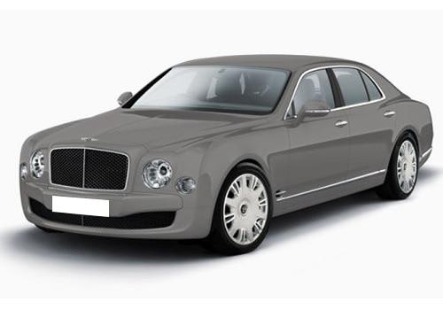 Bentley Mulsanne Light Grey Satin Color