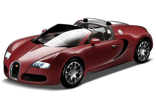 Bugatti Veyron Light Red Color