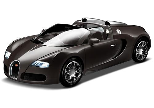 Bugatti Veyron Mocca Brown Color