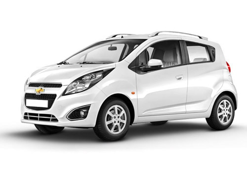 Chevrolet Beat Summit White Color