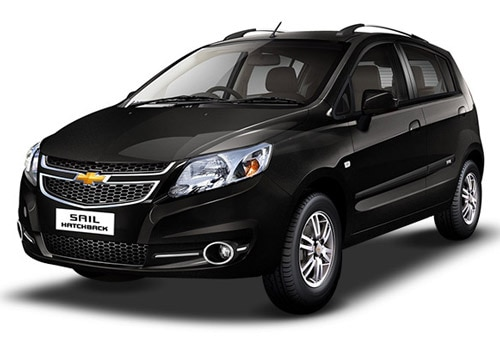 Chevrolet Sail Hatchback Caviar Black Color