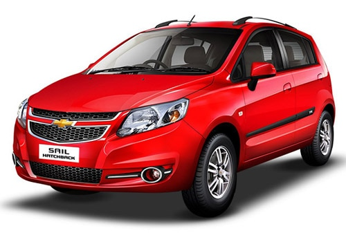 Chevrolet Sail Hatchback Super Red Color