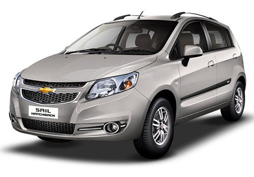 Chevrolet Sail Hatchback Switch Blade Silver Color