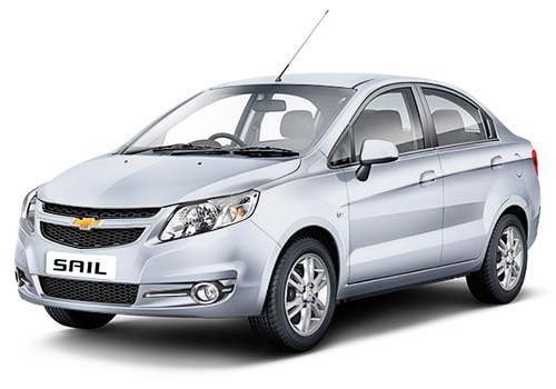 Chevrolet Sail Switch Blade Silver Color
