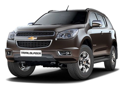 Chevrolet Trailblazer Auburn Brown Color