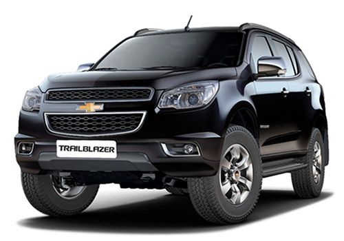 Chevrolet Trailblazer Black Sapphire Color