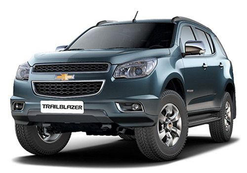 Chevrolet Trailblazer Blue Mountain Color
