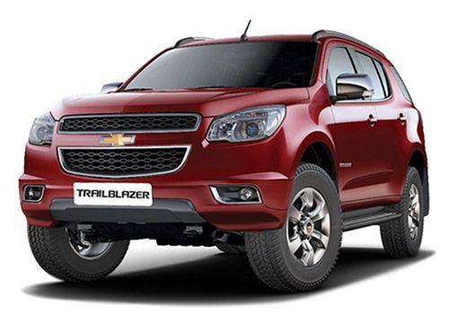 Chevrolet Trailblazer Sizzle Red Color