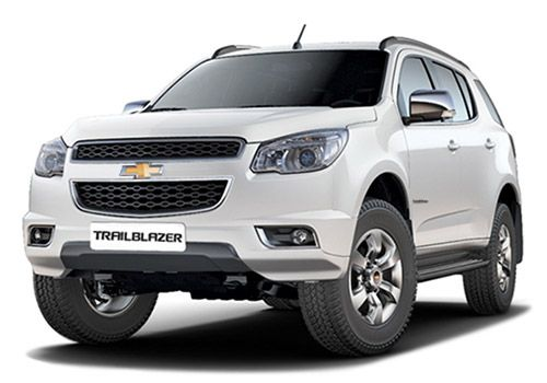 Chevrolet Trailblazer Summit White Color