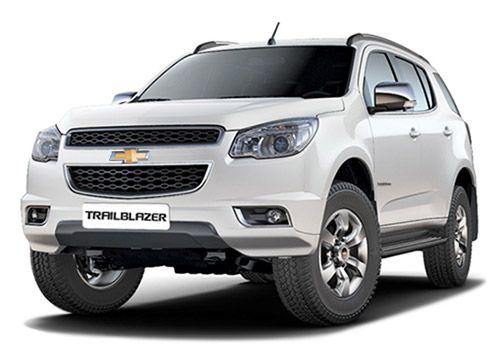 Chevrolet Trailblazer Summit White Color