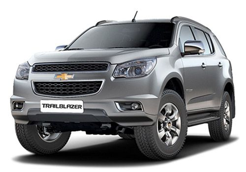 Chevrolet Trailblazer Switch Blade Silver Color
