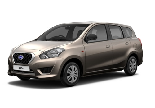 Datsun GO Plus Gray Color
