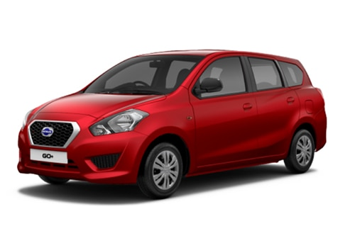 Datsun GO Plus Ruby Color