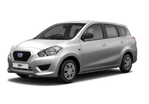 Datsun GO Plus Silver Color