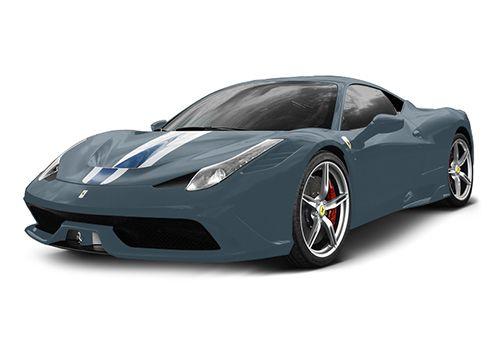 Ferrari 458 Speciale Blu Abu Dhabi Color