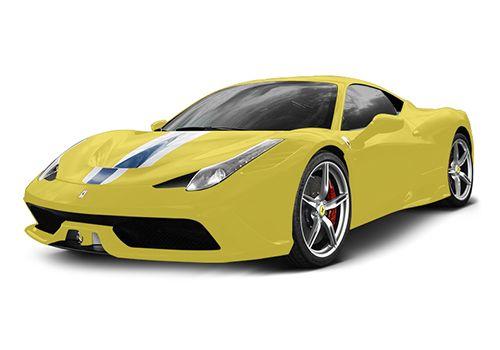 Ferrari 458 Speciale Giallo Modena Color