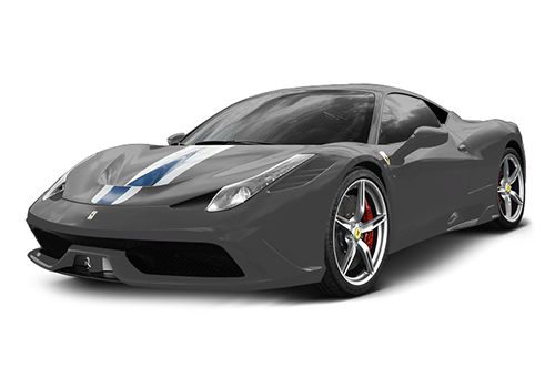 Ferrari 458 Speciale Nero Daytona Color