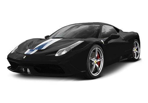 Ferrari 458 Speciale Nero Pastello Color