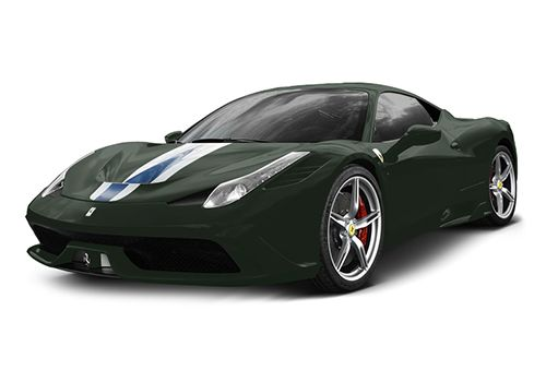 Ferrari 458 Speciale Verde british Color