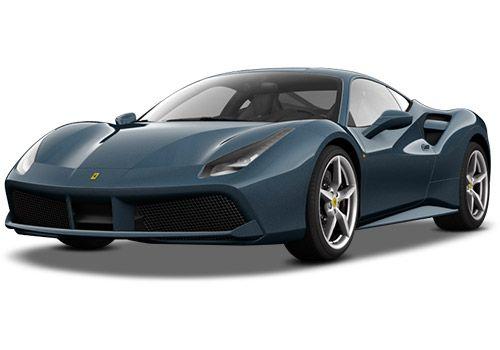 Ferrari 488 Blu Abu Dhabi Color