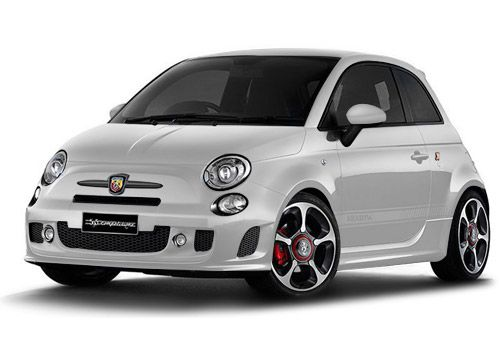 Fiat 500 Iridato White Color
