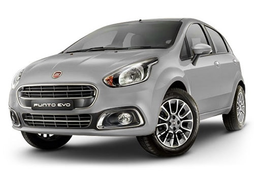 Fiat Punto EVO Minimal Grey Color