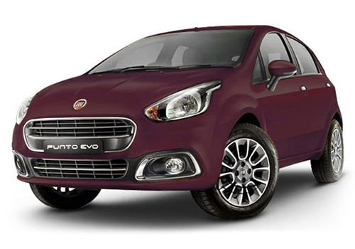 Fiat Punto EVO Tuscan Wine Color