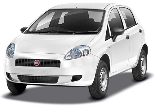 Fiat Punto Pure Bossa Nova White Color