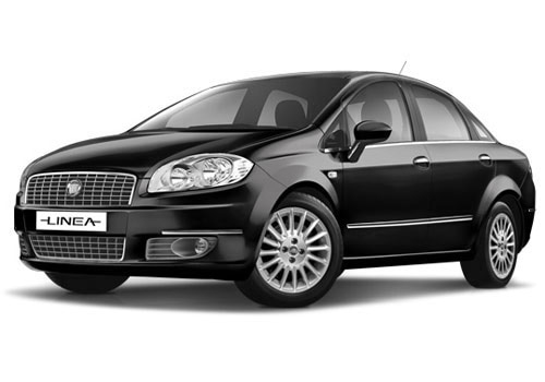 Fiat Linea 2008 2011 Hip Hop Black Color