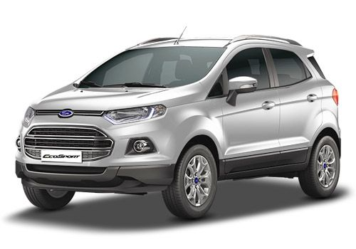 Ford EcoSport Diamond White Color