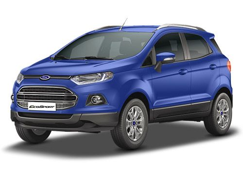 Ford EcoSport Kinetic Blue-Ford Ecosport Color